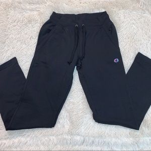 BLACK CHAMPION SWEATPANTS